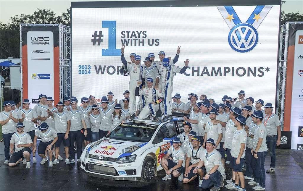 AUTOMOBILE: Rally du Australia- WRC -11/09/2014