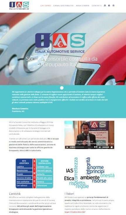 IAS - Nuovo sito Internet