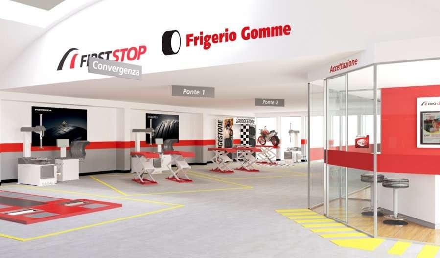 BS 44 - 15 Frigerio Gomme sceglie First Stop per il nuovo punto vendita