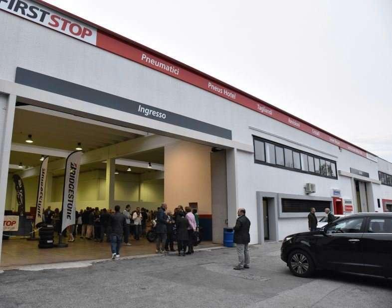 Brusamarello Padova festeggia con First Stop_2