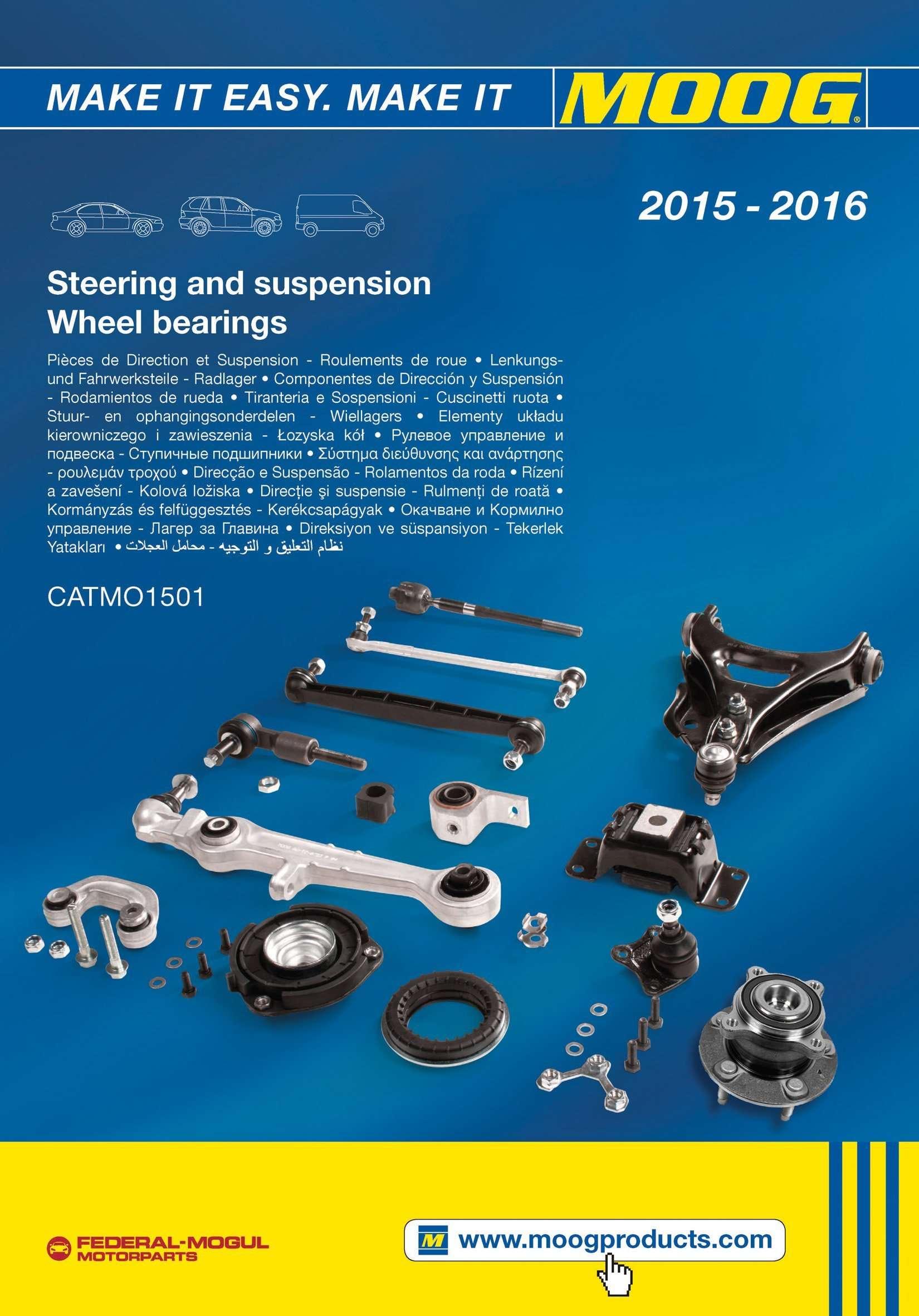F-M Motorparts_Catalogo MOOG 2015-2016