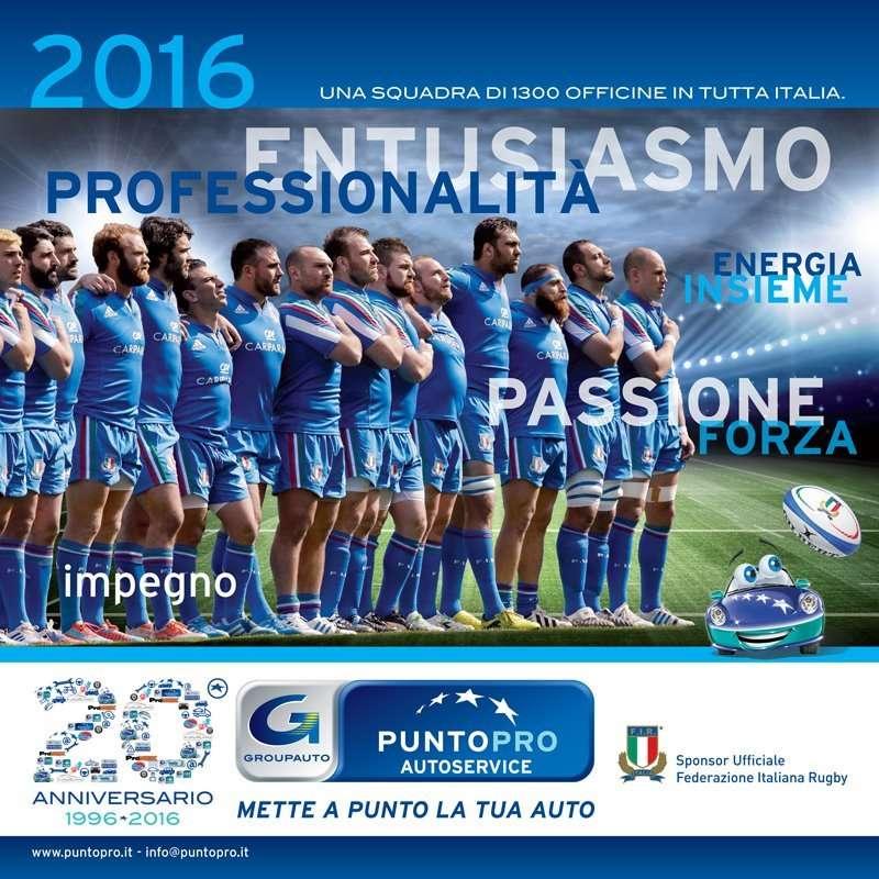 PUNTOPRO - Calendario 2016