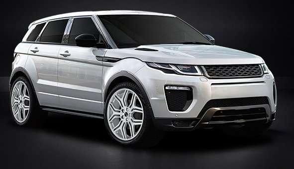Land Rover Range Rover Evoque con sfondo-156326