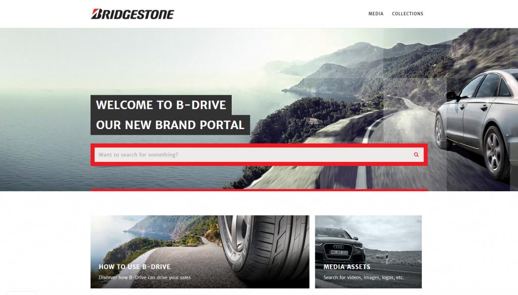 B-drive homepage
