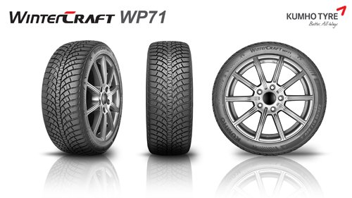 New Kumho Wintercraft WP71