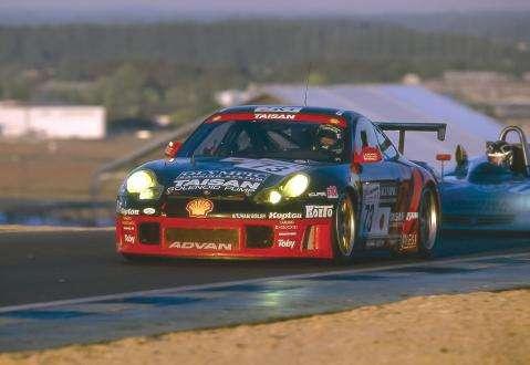 Team Taisan ADVAN's Porsche 911 GT3R