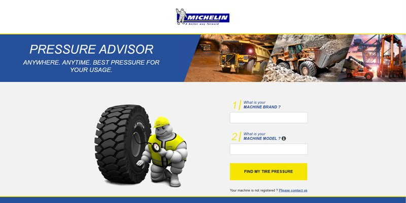 MICHELIN Pressure Advisor