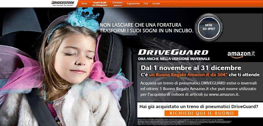 bridgestone driveguard winter 2016 ti regala un inverno. Black Bedroom Furniture Sets. Home Design Ideas